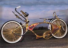 a lowrider bicycle